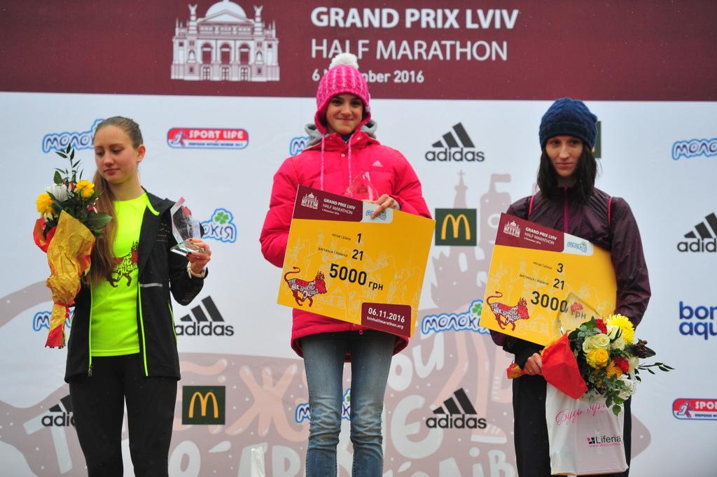 21 km women