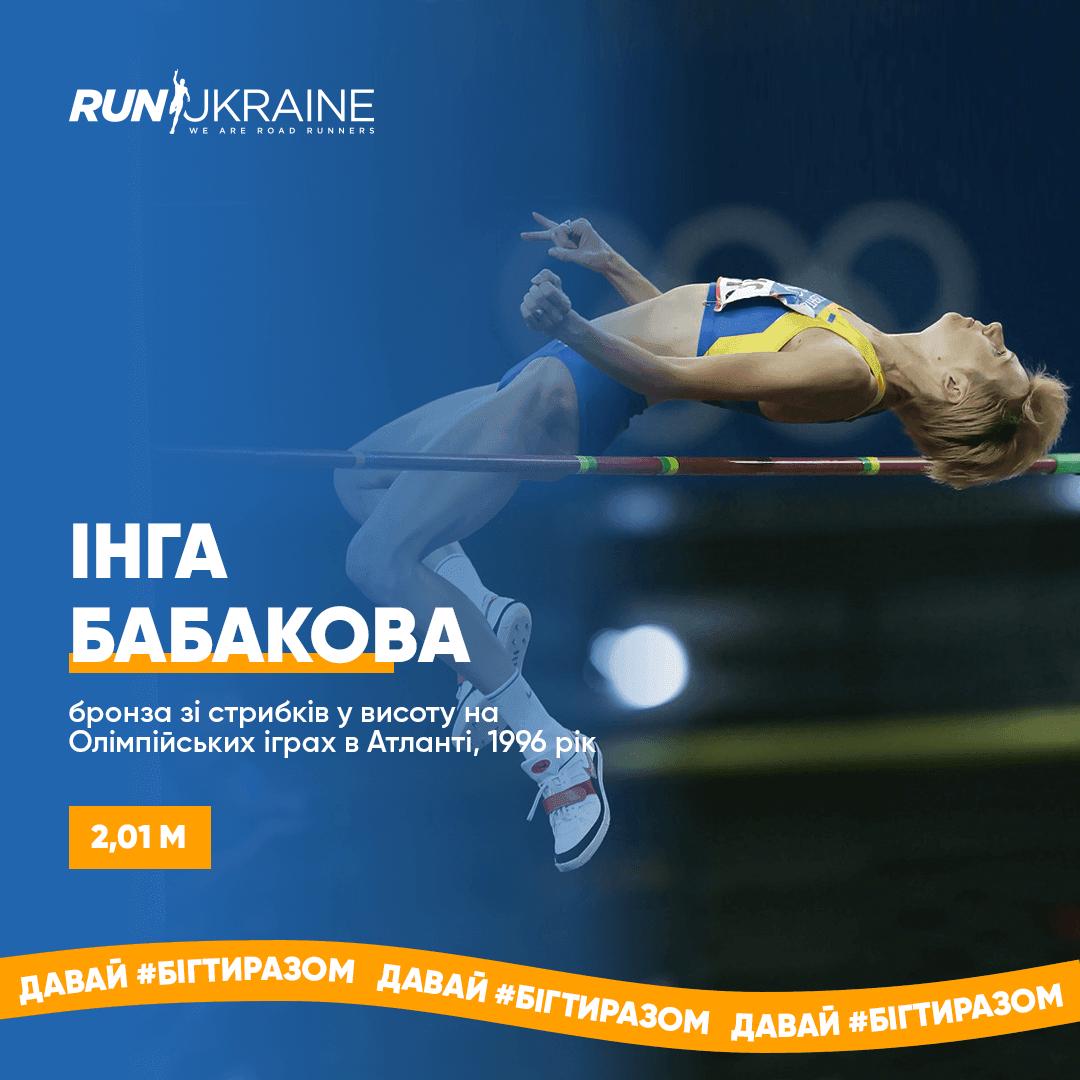 Інга Бабакова: Олімпійська призерка зі стрибків у висоту, володарка світового рекорду у віковій категорії понад 35 років