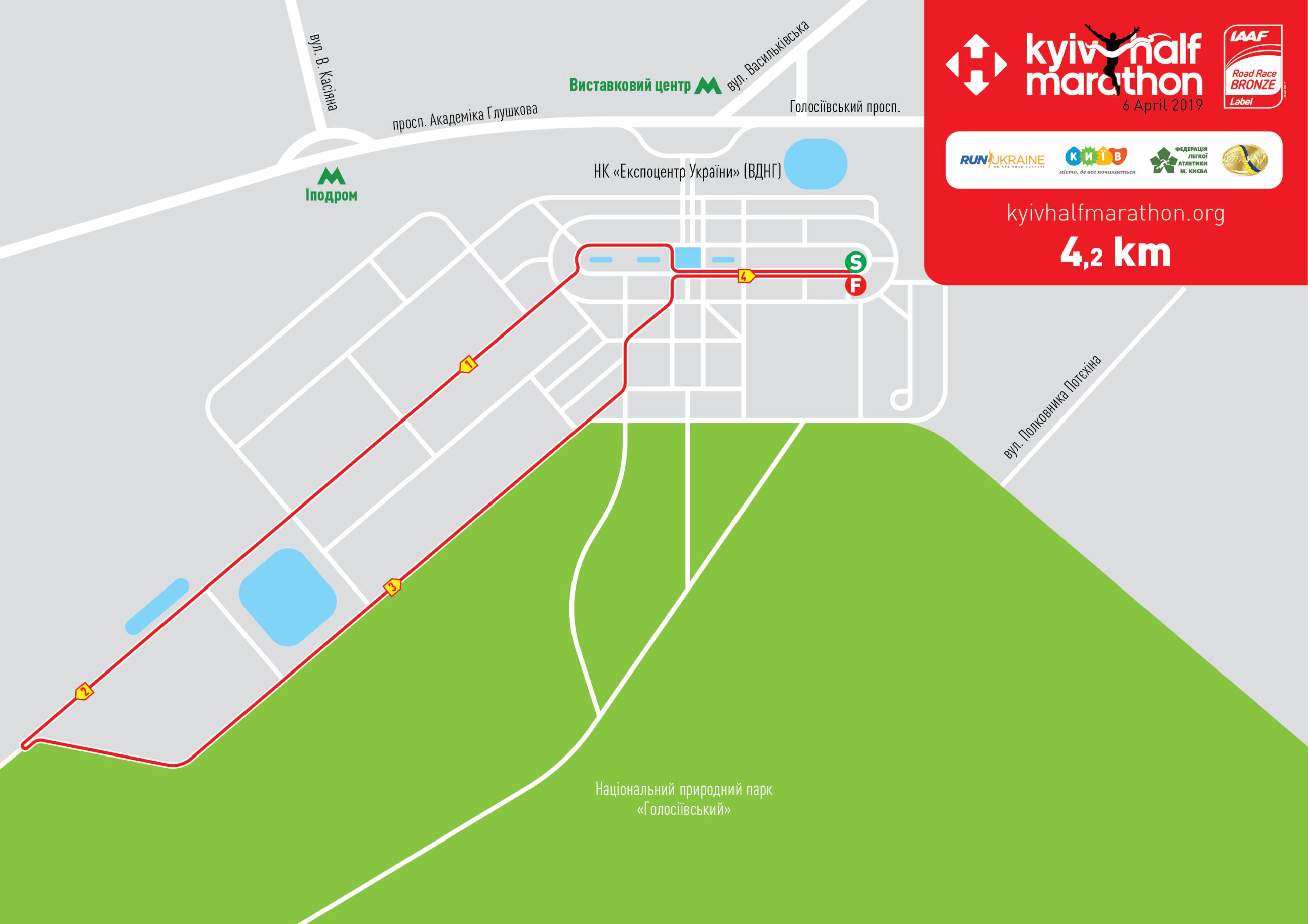 Rexona Mini Marathon 42 Km Nova Poshta Kyiv Half Marathon